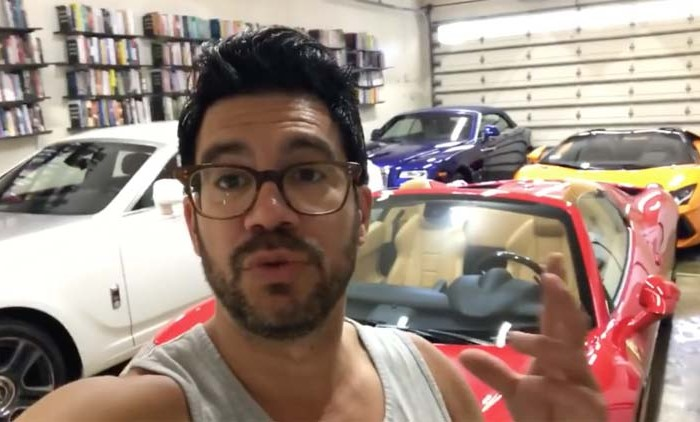 Tai Lopez net worth + bio + courses - image from video screenshot
