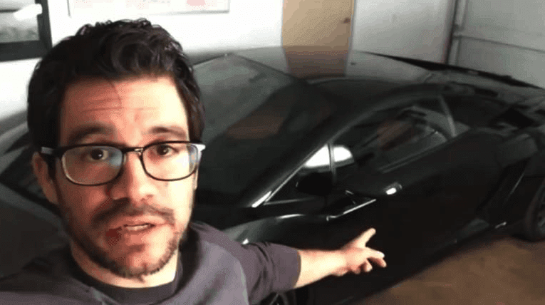 Screenshot of Tai Lopez Garage Video