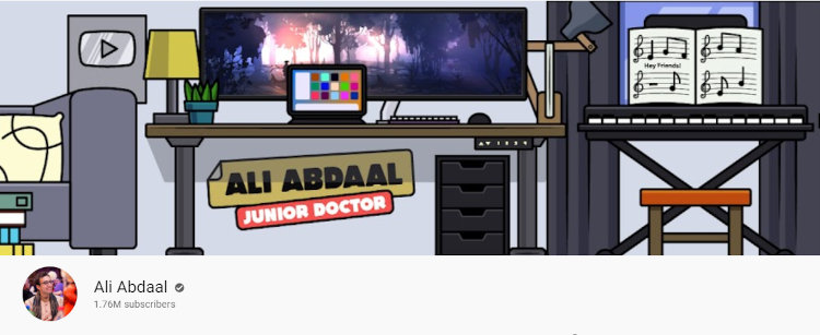 Abdaal's YouTube channel.