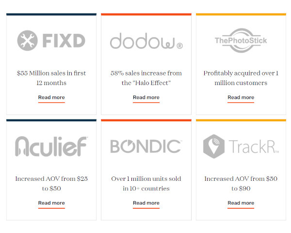 Notable GiddyUp projects.