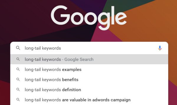 What are long-tail keywords.