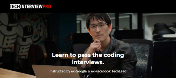 The homepage of Shyu's Tech Interview Pro.