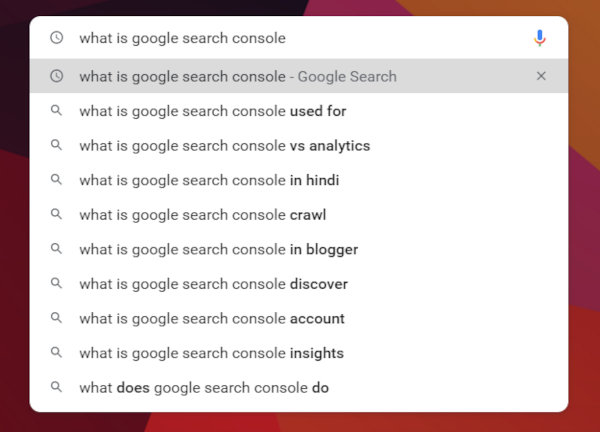 """Search results for """"Google Search Console."""""""