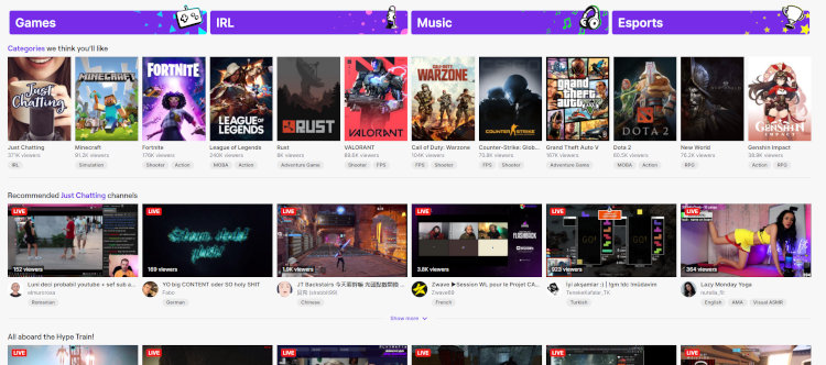 Twitch is another popular platform where streamers may make money playing video games.
