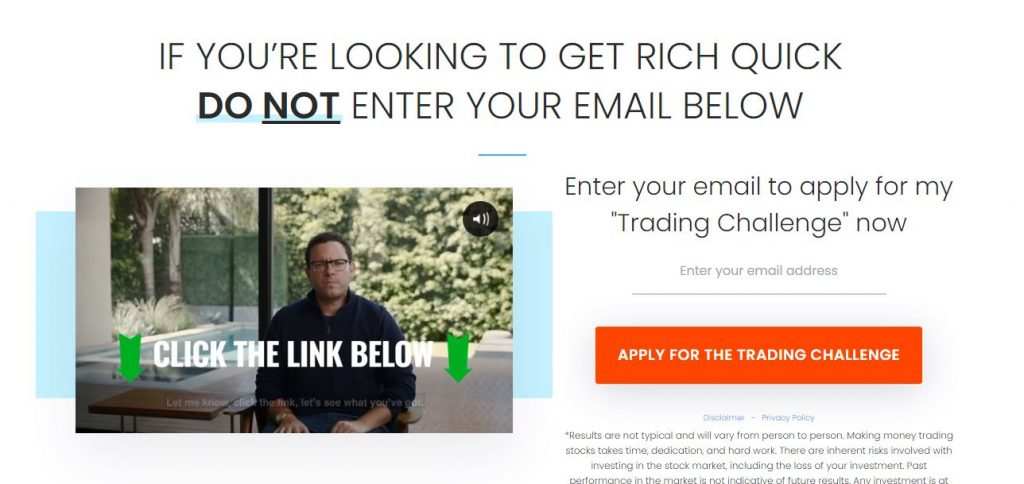Timothy Sykes Trading Challenge