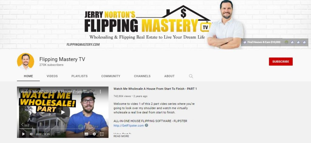 Flipping Mastery YouTube Channel